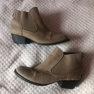 Super cute union bay brown booties!